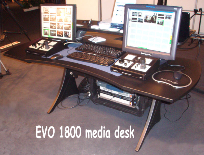 The Evo² Range Of Media Workstation Desks Have Been Specifically Designed To Enhance Working Environment For Users Professional Systems